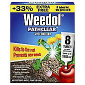 Weedol Pathclear Weedkiller 6 + 2 Free Tubes