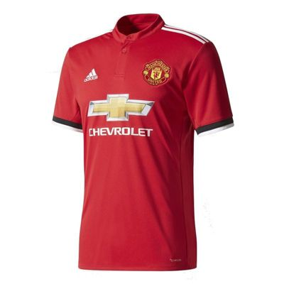 adidas Manchester United F.C. Home Football Jersey 17/18 Size - XL