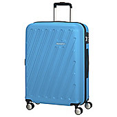 American Tourister HyperCube 4 Wheel Blue Large Suitcase
