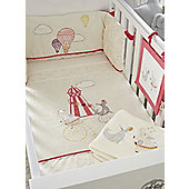 Tutti Bambini Helter Skelter 7 piece Nursery Bedding Set