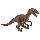 Crouching Velociraptor Dinosaur Figurine Toy by Animal Planet
