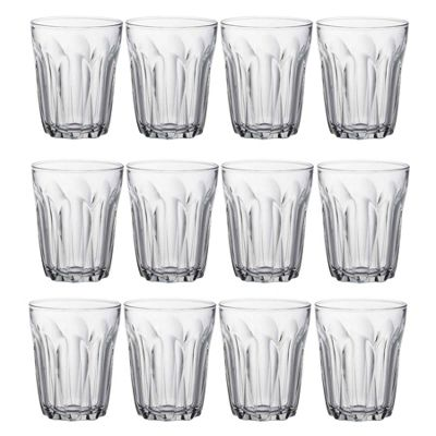 Duralex Provence Water / Juice Traditional Tumbler Glasses - 250ml - x12