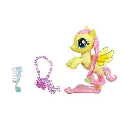 My Little Pony: The Movie Glitter & Style Seapony Fluttershy