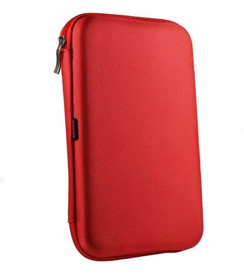 Navitech Red Hard Protective Case Cover For the All-New Fire HD 8 Tablet with Alexa, 8