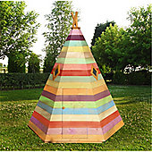 7 x 6 Wooden Wigwam Playhouse 7ft x 6ft (2.14m x 1.83m)