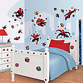 Spiderman Room Decor Kit with Height Chart