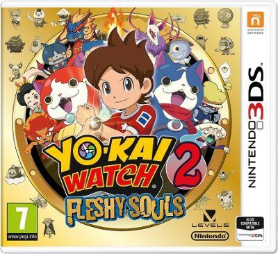 3DS Yo Kai Watch 2: Fleshy Souls