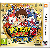 3DS Yo Kai Watch 2: Fleshy Souls