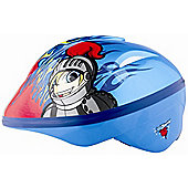 KIDZAMO BOYS BIKE HELMET JNR SAMY 46/52 BLUE