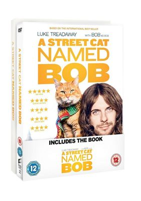 A Street Cat Named Bob Banded With The Book