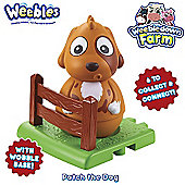 Weebledown Farm Weebles - Patch the Dog Weeble