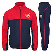 Arsenal FC Mens Tracksuit - Red