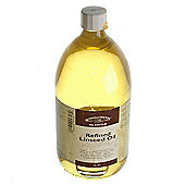 W&N - Refined Linseed Oil - 1 Litre Tin