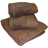 Luxury Egyptian Cotton Hand Towel - Chocolate