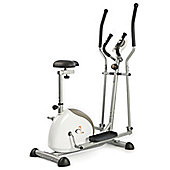 V-fit G-CET Combination Magnetic 2-in-1 Cycle Elliptical Trainer