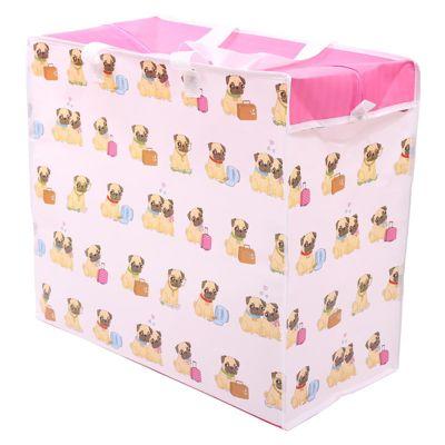 Puckator Pug Dog Laundry Bag