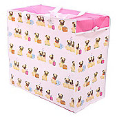 Puckator Pug Dog Laundry Bag