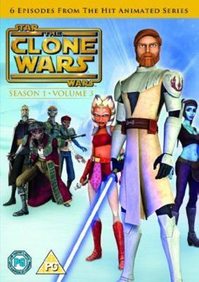 Star Wars - Clone Wars - Series 1 Vol 3 (DVD Boxset)