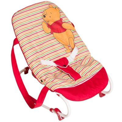 Hauck Disney Rocky Bouncer (Pooh Spring Bright Red)