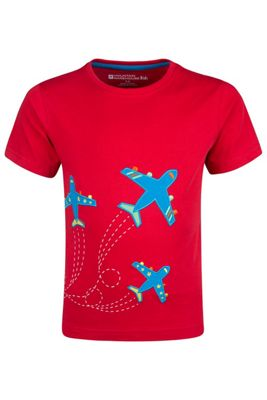 Mountain Warehouse Get Ready For Take Off Kids T-Shirt ( Size: 2-3 yrs )