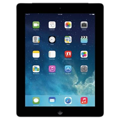 Apple iPad with Retina display (4th generation) 16GB Wi-Fi + Cellular (3G/4G) Black