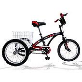 "Concept Tri-Mantis 16"" Wheel Boys Tricycle"