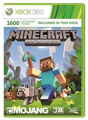 Xbox Live - 1600 Microsoft Points - Minecraft Branded