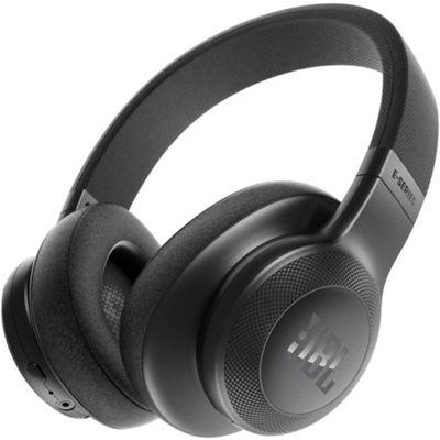 JBL E55, Around Ear Bluetooth Headphones Black