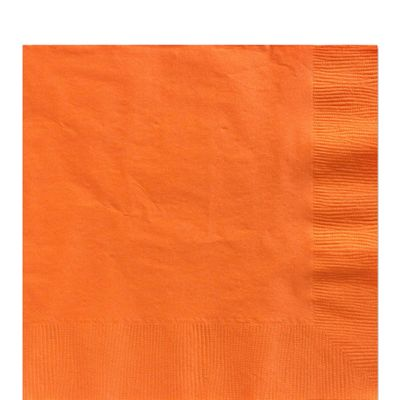 Orange Luncheon Napkins - 2ply Paper - 20 Pack