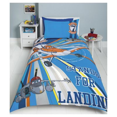 Buy Disney Planes Dusty And Echo Flying Duvet Set, Single ...