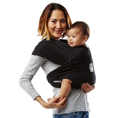 Baby K'Tan Breeze Carrier - Basic Black - M