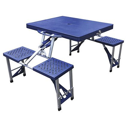 Save 1/3 Tesco Folding Camping Picnic Table & Chairsr £10 on Folding Camping Chairs