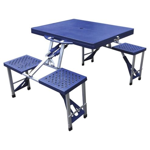 portable table and chairs buy tesco folding camping picnic table chairs from our metoo. Black Bedroom Furniture Sets. Home Design Ideas