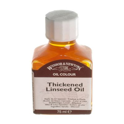 W&N - Thickened Linseed Oil 75ml