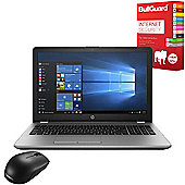 "HP 250 G6 15.6"" Laptop Intel Core i5-7200U 8GB 256GB SSD Win 10 Pro with Internet Security & Mouse - 1WY59EA#ABU"
