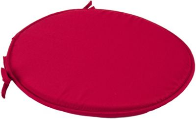 Red Round Seat Pad Cushion With Ties