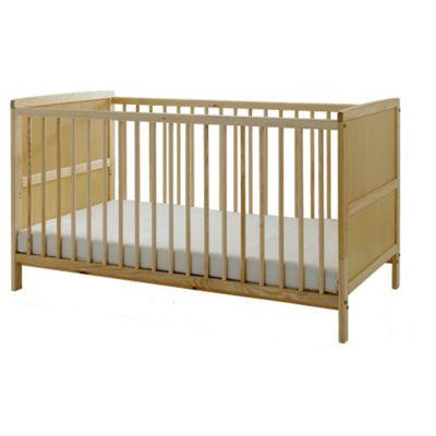 Kinder Valley Cot Bed & Mattress Bundle (Natural)