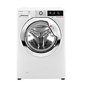 Hoover Washing Machine, DXP412AIW3, 12kg load with 1400 rpm - White