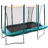 7ft x 10ft Skyhigh Rectangular Trampoline and Enclosure