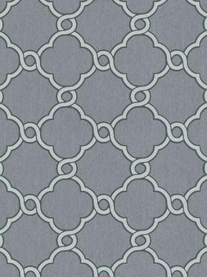 Opal Geometric Glitter Wallpaper Grey and Silver P+S 02493-40