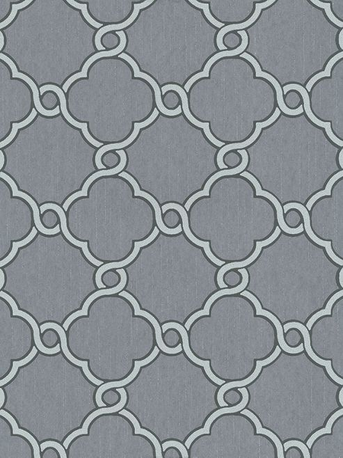 Opal Geometric Glitter Wallpaper Grey and Silver P+S 02493-40