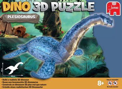 Jumbo Dino 3D Plesiosaurus Model Puzzle