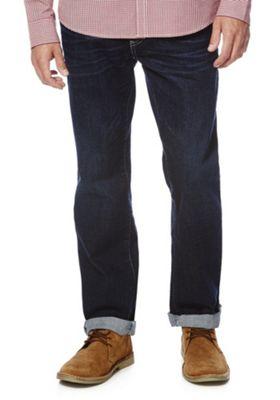 F&F Stretch Loose Jeans 32 Waist 32 Leg Dark wash
