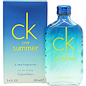 Calvin Klein CK One Summer 2015 Eau de Toilette (EDT) 100ml Spray
