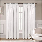 Ripon Thermal Blackout Curtains 66 x 54 - White