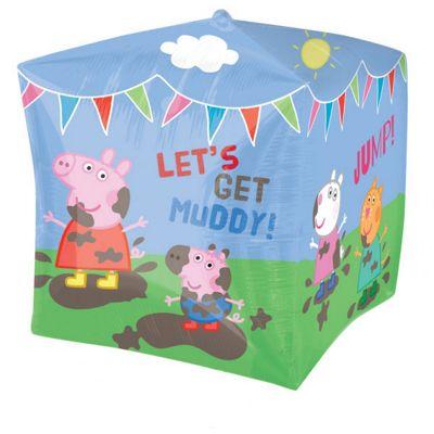 Cubez Peppa Pig Balloon - 24 inch Foil