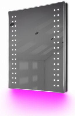 Ambient Shaver LED Bathroom Illuminated Mirror With Demister Pad & Sensor K38sp