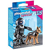 Playmobil 5369 Specials Plus Tactical Police Dog Unit