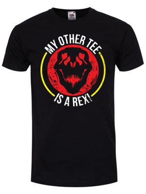 My Other Tee Is A Rex Men's T-shirt, Black.