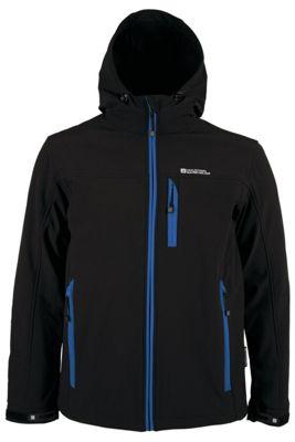 Bern Breathable Inner Microfleece Adjustable Hood Cuffs Hem Softshell Jacket
